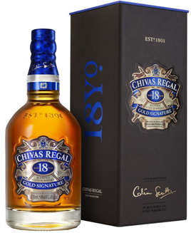 Chivas Regal Scotch 18 Year